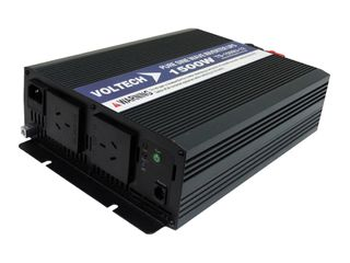 Pure sine wave inverter Voltech 12V (1500W) With Transfer Switch