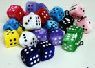 DICE SET OF TWO, 4CM EACH