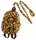 BACKPACK W/CHILDS LEASH - GIRAFFE