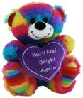 BEAR JELLY FEEL BRIGHT HEART 18CM