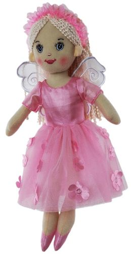 DOLL FAIRY WILLOW PINK 35CM