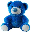 BEAR HOLLYWOOD BLUE 60CM