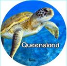 MAGNET QUEENSLAND (SEA TURTLE) 50MM