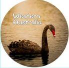 MAGNET WESTERN AUSTRALIA (SWAN) 50MM