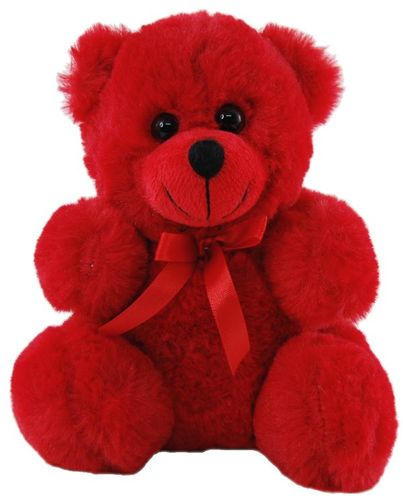 BEAR CANDY - RED 22CM