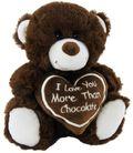 BEAR CHOCOLATE 18CM
