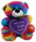 BEAR JELLY FEEL BRIGHT HEART 18CM