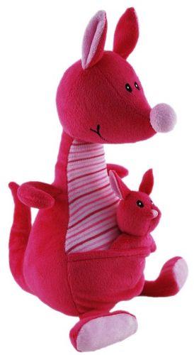 KANGAROO WITH BABY 23CM  : PINK (S/P)