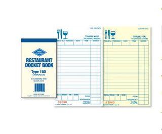 Docket Book- Sm Restaurant 15D Carbonles