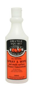 Bottle Printed 500ml - Orange Squirt