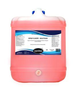 Spray & Wipe (Multisan) 20L
