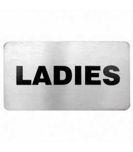 Sign - Ladies 18/10 Wall