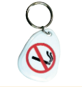 Key Tag - No Smoking (45x35mm)