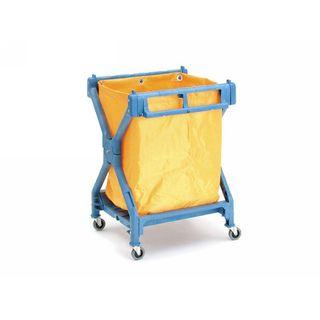 Deluxe Plastic Scissor Trolley with Bag
