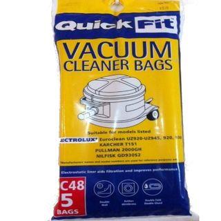 Vacuum Bags - Suit Electrolux QC48 (5)