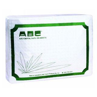 Dental Bibs - ABC-BIB-4 8x250Sht