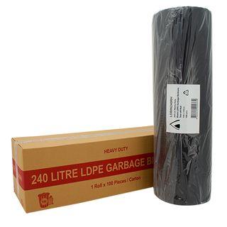 240L Heavy Duty - Roll LDPE (100)
