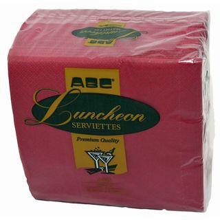 2 ply Lunch Serviette - Pink (20x100)