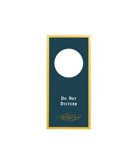 Sign - Do Not Disturb (Blue)
