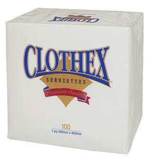 Clothex Dinner Napkins (6x100)