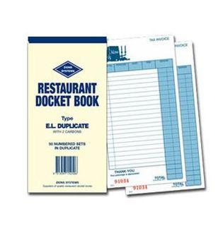 Docket Bk-Lrg Restaurant (EL)