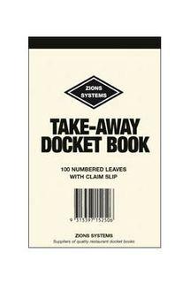 Docket Book - Takeaway