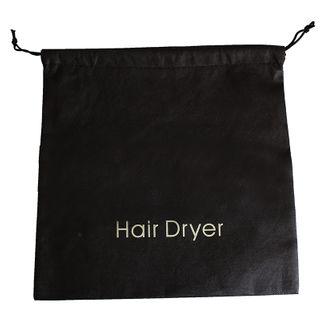 Hair Dryer Bag Black Printed