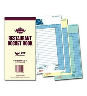 Docket Books 22T