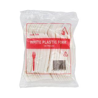 Plastic Forks (10x100)