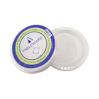 Plastic Plates - Round 230mm (10x50)