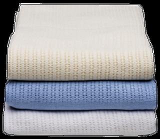 Blanket - Cotton Thermal King White