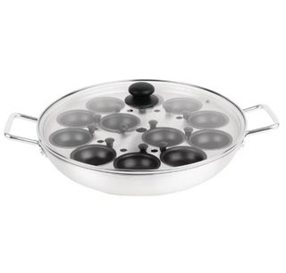Egg Poacher - 12 cup Non-stick with Alum