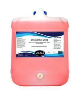 Citrus Spray & Wipe 20L