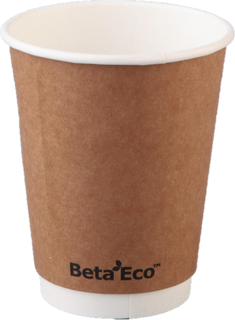 Cups - Beta Eco Double Wall 8oz (20x25)