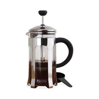 Coffee Plunger - Chrome  6 Cup