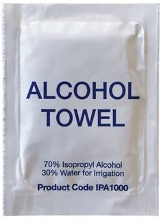 Alcohol Towel/Wipes (1000)