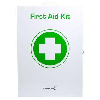 First Aid Kit - Catering Metal Medium