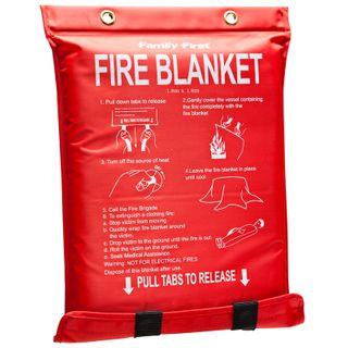 Fire Blanket Wall Mounted