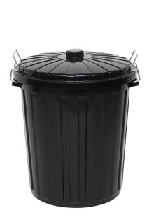 Garbage Bin 73L Plastic with Lid