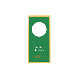 Sign - Do Not Disturb (Green)