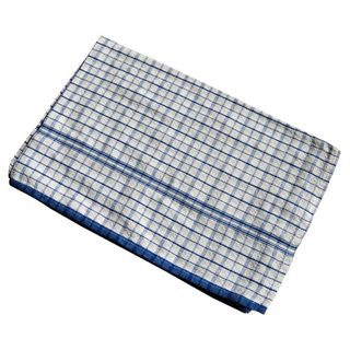 Tea Towels Blue Check (25)
