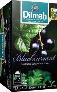 Dilmah Teabags - Blackcurrant 20s - ENV