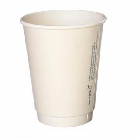 Paper Cup PE 8oz DW 25s (Sleeve)