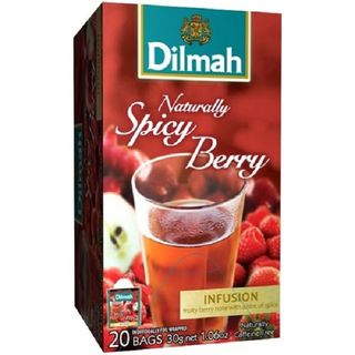 Dilmah Teabags - Naturally Spicy Berry Envelope (Foil) 20s