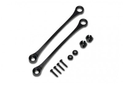 LID RESTRICTER STRAP KITS FOR SW MOTECH TRAX ADVENTURE ALL PARTS IN PIC INCLUDED