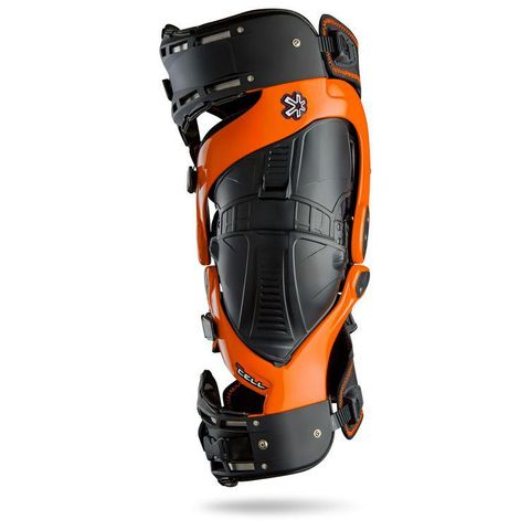 ASTERISK KNEE BRACE ULTRA CELL 2.0 ORANGE {INCLUDES UNDERSLEEVES} LARGE RIGHT