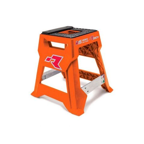 RTECH R15 WORKS CROSS BIKE STAND LAUNCH EDITION MADE IN ITALY ORANGE