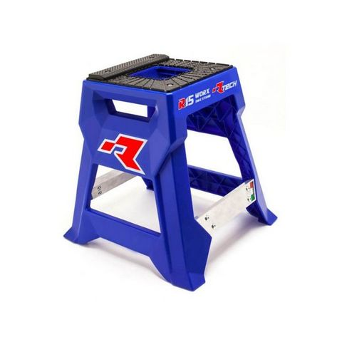 RTECH R15 WORKS CROSS BIKE STAND LAUNCH EDITION BLUE