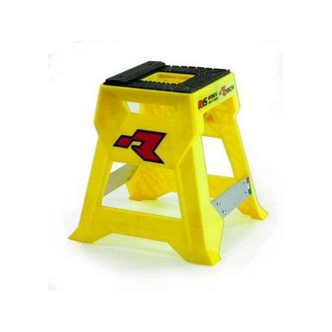 RTECH R15 WORKS CROSS BIKE STAND LAUNCH EDITION YELLOW