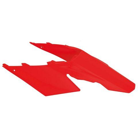 *REAR FENDER RTECH GAS GAS EC125 EC200 EC250 EC300 EC450FSR MC125 MC250 MC300 07-09 RED